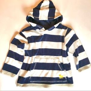 Mini Boden French terry hoodie, size 4-5Y